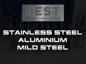 Stainless Steel, Mild Steel & Aluminium