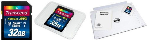 Transcend 32 GB High Speed 10 UHS Flash Memory Card