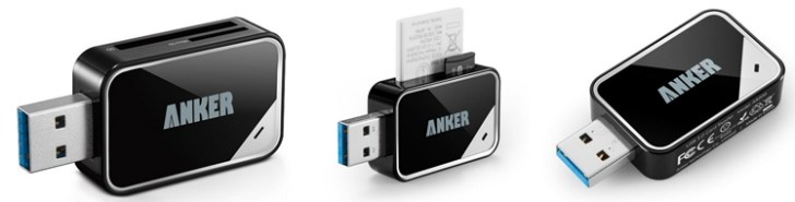 Anker Card Reader with Super Speed USB 3.0