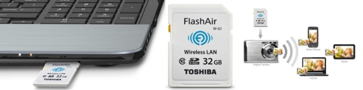 Toshiba Flash Air II Wireless 32GB SDHC Memory Card