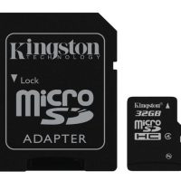 Kingston Digital 32 GB micro SDHC Flash Card