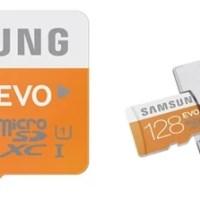 Samsung EVO 128 GB UHS-1 Class 10 Micro SD Card