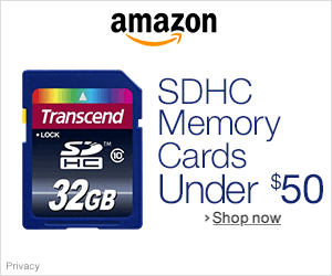 Best SDHC Memory Cards under $50