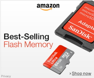 Best selling flash memory cards