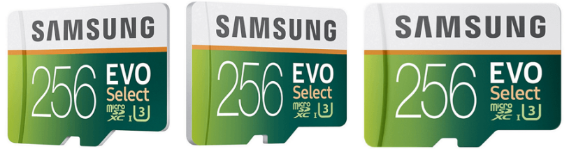 Samsung 256GB Memory Card