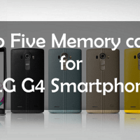 Memory cards for LG G4 Smartphone