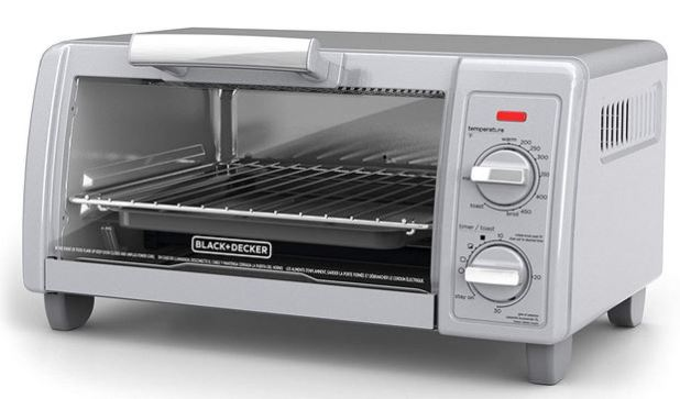 BLACK+DECKER 4 Slice Toaster Oven