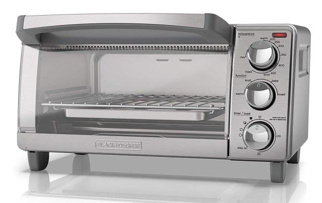 BLACK+DECKER 4-Slice Toaster Oven