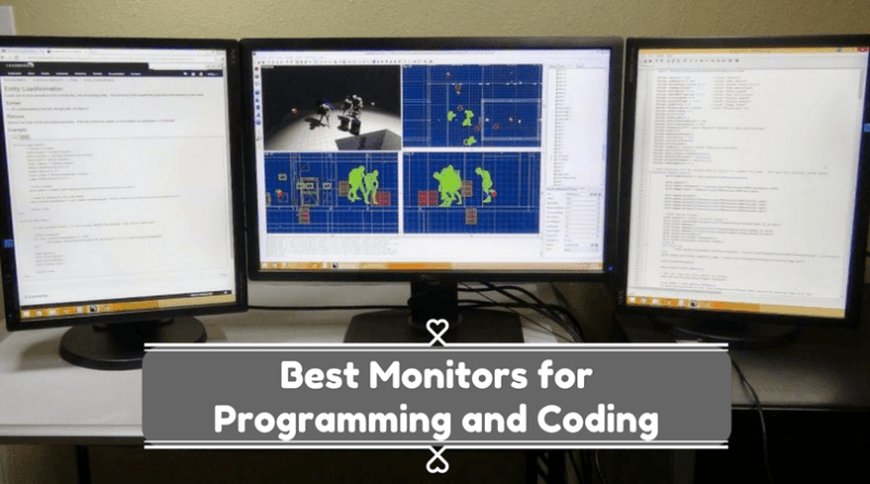 Best Monitors for Programming and Coding