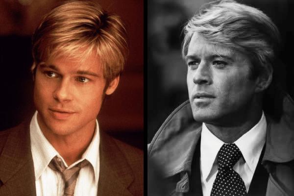 Hollywood Heartthrob Brad Pitt Vs Robert Redford Best Movies By Farr