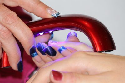 Gel Nail Set With Led L