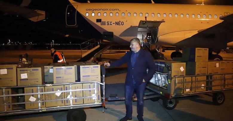 Η Περιφέρεια Αττικής και ο ΙΣΑ παρέλαβαν 1.200.000 μάσκες από την Κίνα