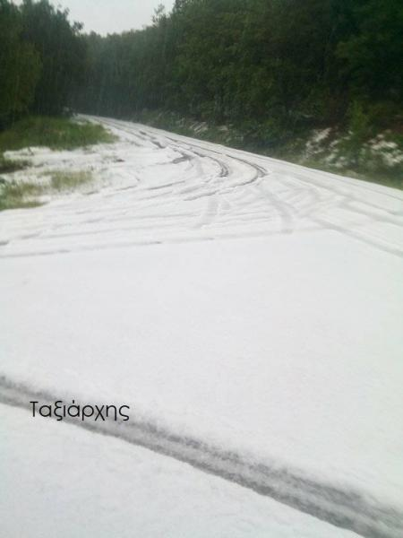 χιονοπτώσεις
