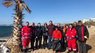 Στην παραλία του Παλαιού Φαλήρου το πρόγραμμα καθαρισμού βυθού και ακτής WE SEA MORE