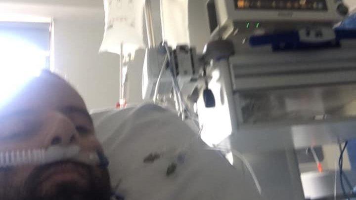 Σοκ προκαλεί η ανάρτηση ενός ασθενή με κοροναϊό ο οποίος χρειάστηκε να νοσηλευτεί σε εντατική και να μπει στον αναπνευστήρα.