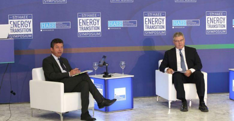 """Ο CEO της ΕΛΠΕ κ. Ανδρέα Σιάμισιη στο """"5th HAEE Energy Transition Symposium"""""""