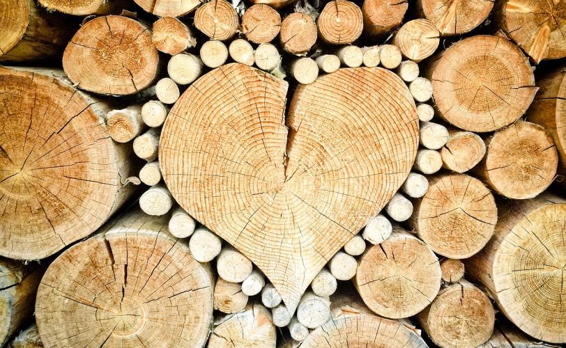 Ξύλα καρδιά