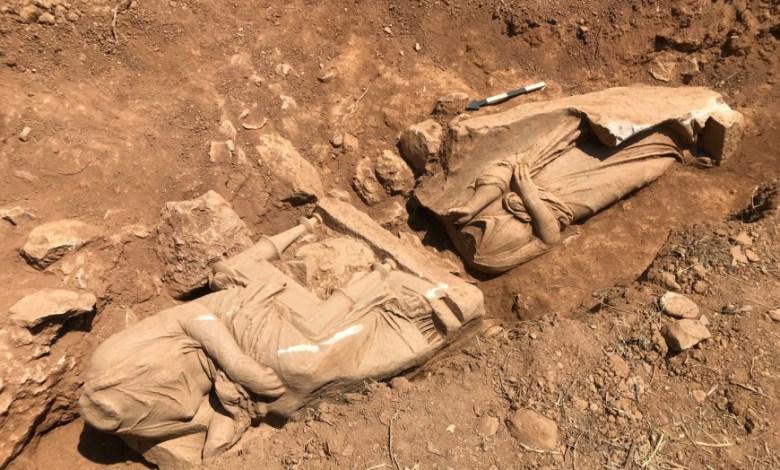 αποκάλυψη ναόσχημου μνημείο Παιανία