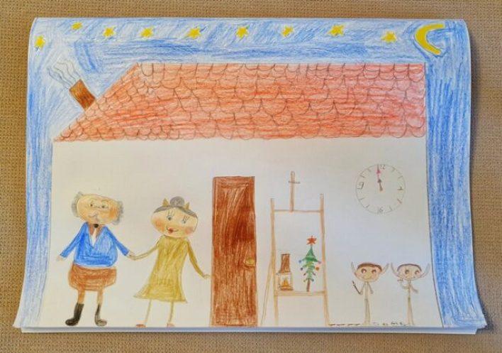 Οι ζωγραφιές που ξεχώρισαν για την εικονογράφηση του παραμυθιού έργα