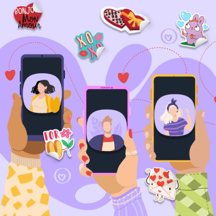 O έρωτας στα χρόνια του messaging! To Viber ρώτησε πως επικοινωνούμε