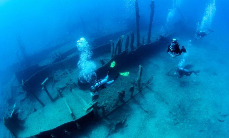 Καταδύσεις σε 91 ναυάγια πλοίων και αεροπλάνων