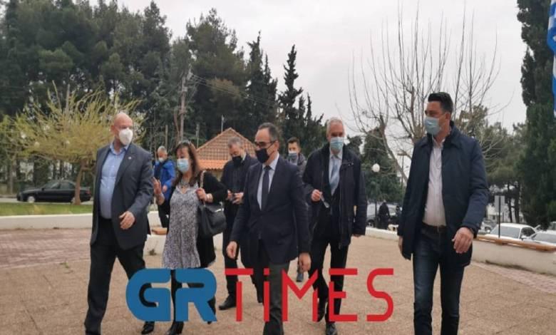 Στο ΕΚΑΒ Θεσσαλονίκης ο Β. Κοντοζαμάνης (ΦΩΤΟ+VIDEO)