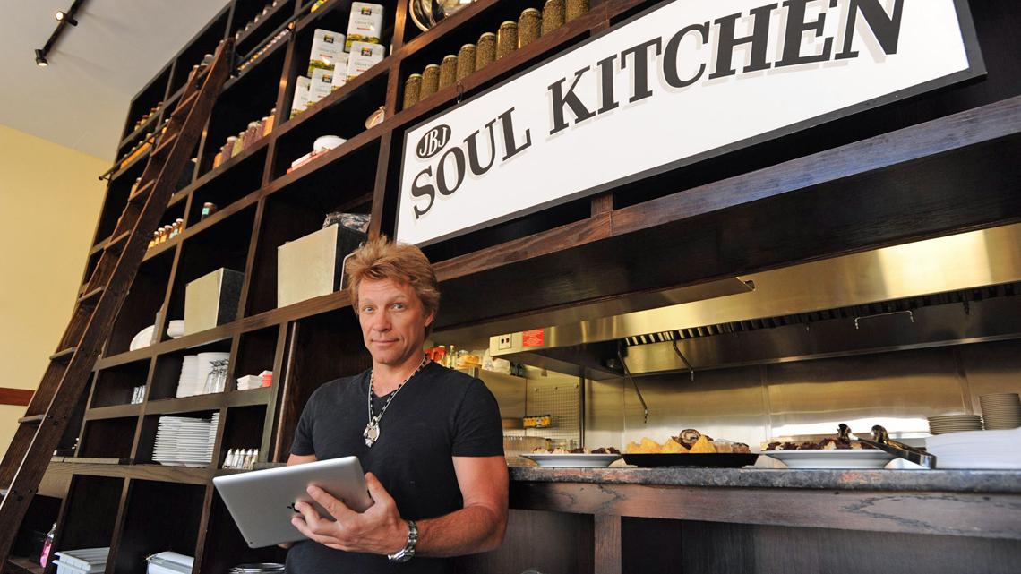 Jon Bon Jovi εστιατόριο