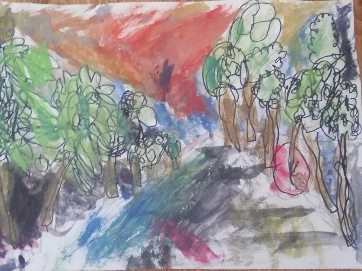 6χρονη καλλιτέχνης