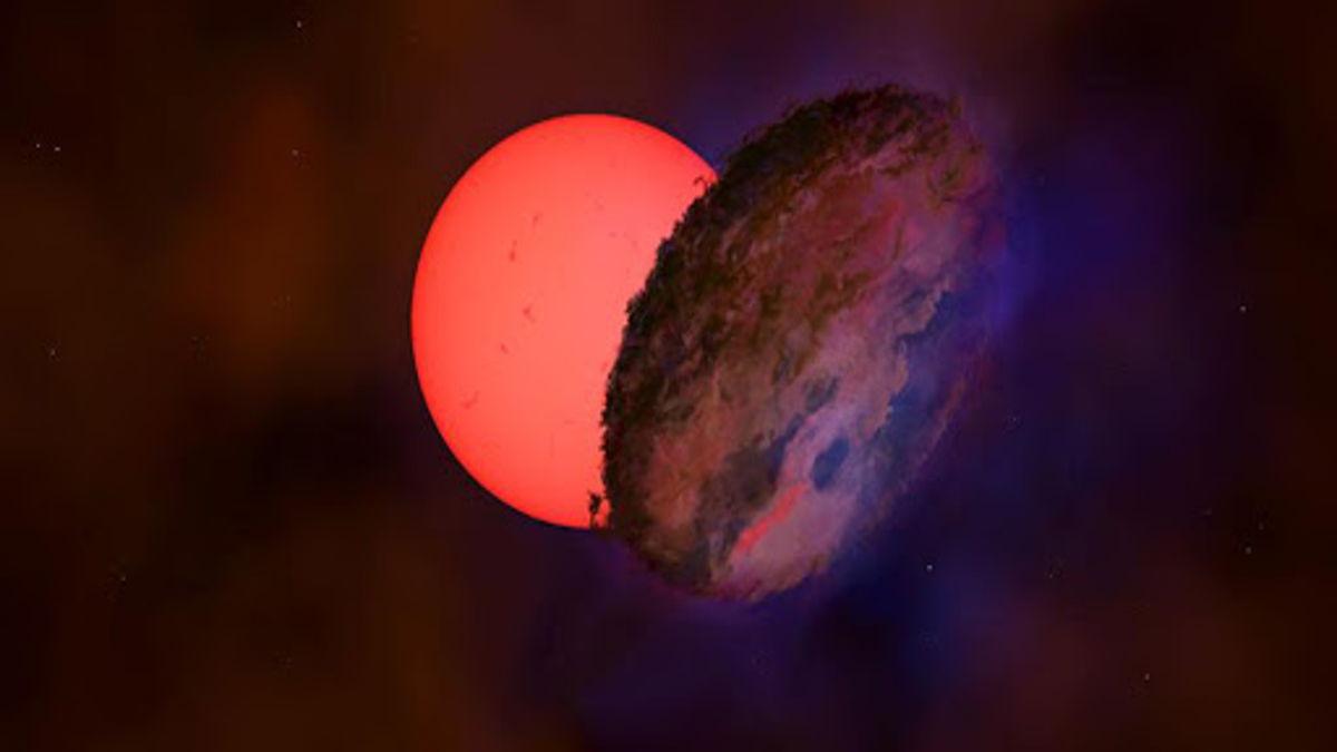 γιγάντιο άστρο ανακάλυψη