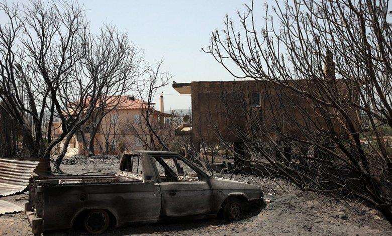 Μέτρα στήριξης των πληγέντων από την πυρκαγιά στην ΒΑ Αττική