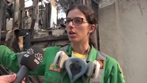 εθελόντρια Βαρυμπόμπη σπίτι φωτιά
