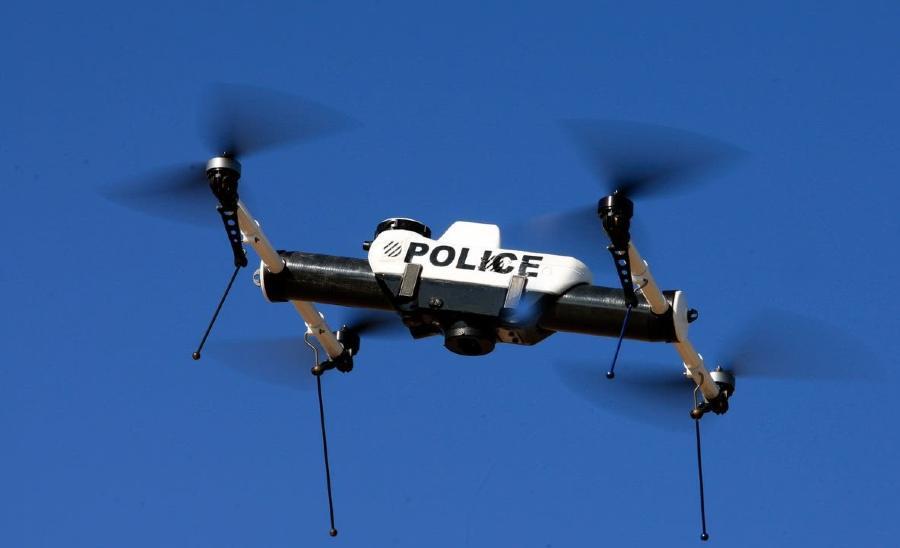 drone κλήσεις Τροχαία