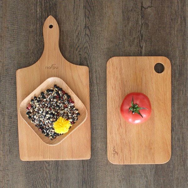 Cooking Tools Friendly Rectangle Solid Wood