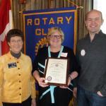 <i>Podcast: Who's On Bainbridge:</i> <br>Susie Burdick is new president of Rotary Club of Bainbridge Island