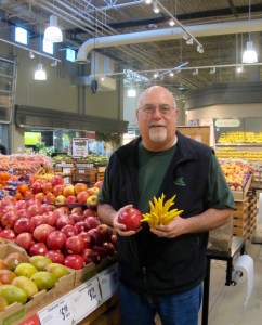 Joe Pulicicchio, T&C's Director of Produce and Floral