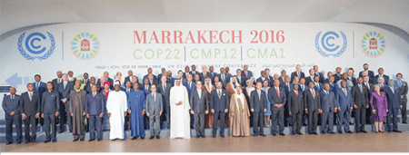 Climate scientist Derik ____ just returned from first anniversary meeting of the Paris Climate Agreement, in Marrakech Morrocco, where scores of delegates pondered the consequences of the US election results