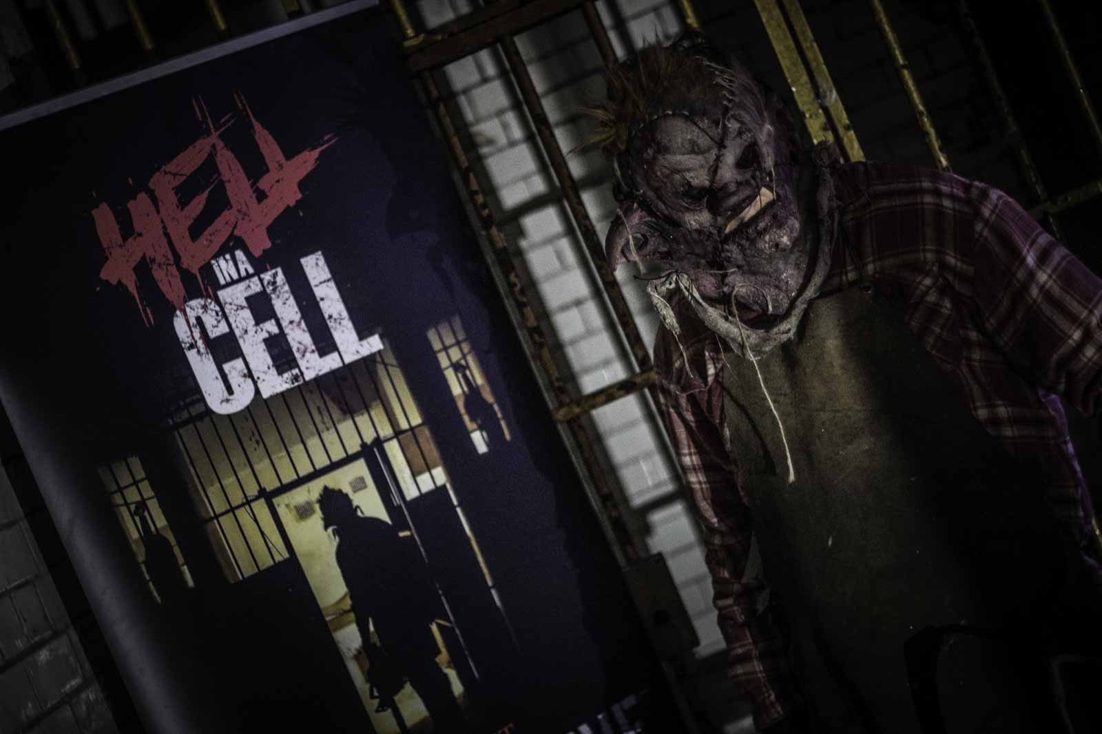 Hell in a cell Bristol