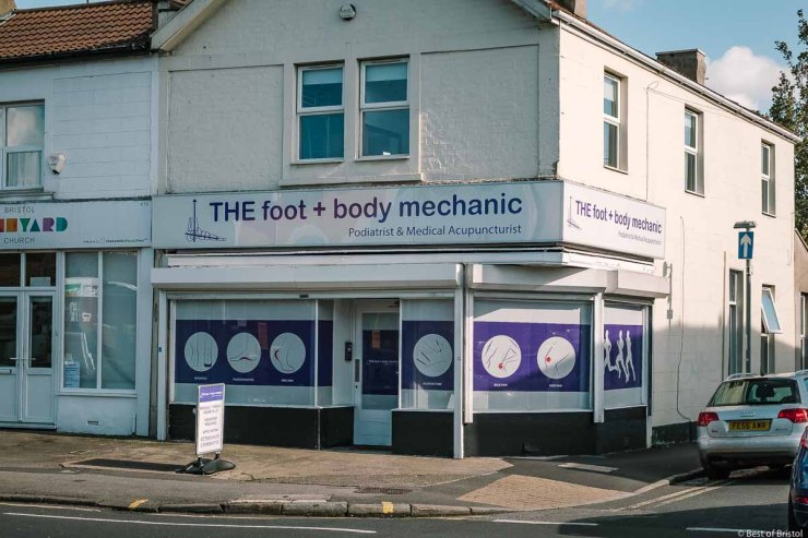foot and body mechanic