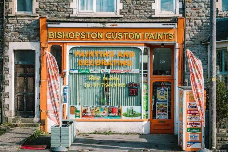 bishopston custom paints