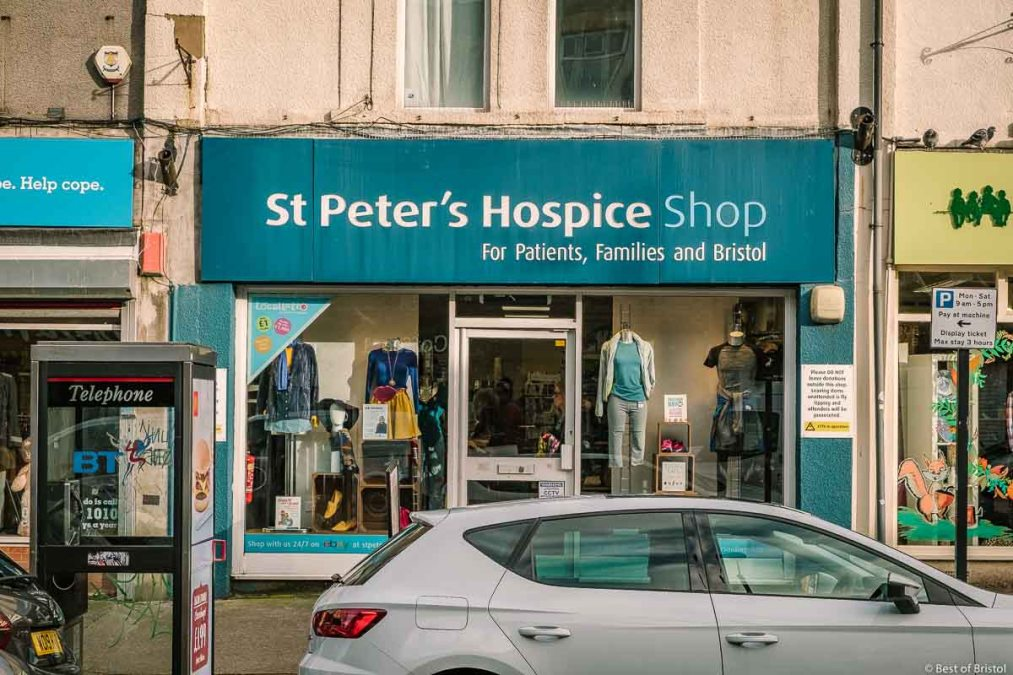 st peter's hospice shop north street