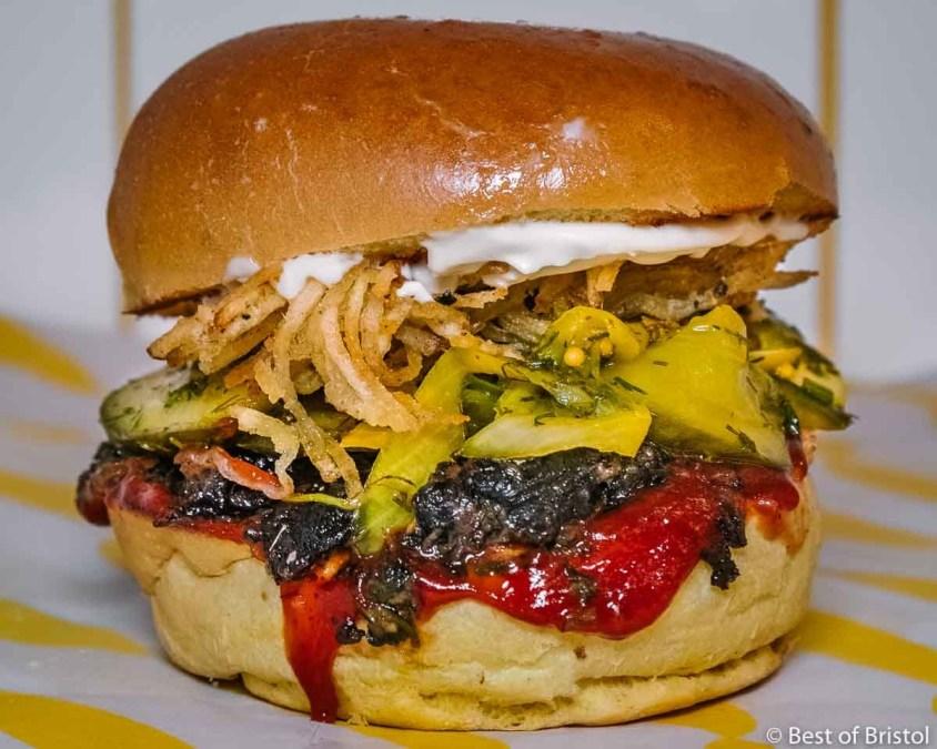 Squeezed Burger Restaurant Bristol