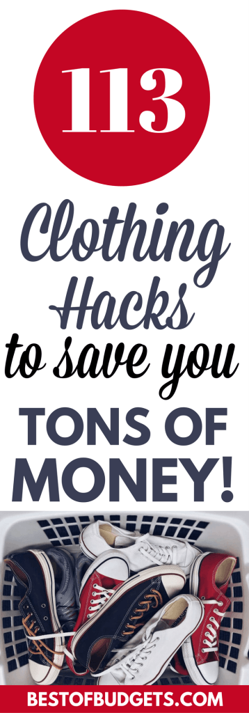 113 Clothing Hacks to Save You a Ton of Money