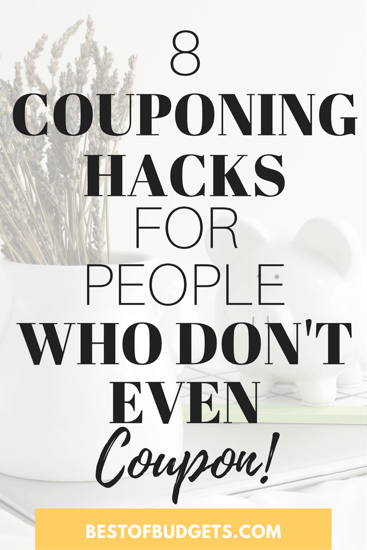 8 Couponing Hacks for People Who Don't Even Coupon