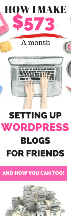 See how I make hundreds of dollars each month setting up WordPress blogs for friends. Here I reveal the exact steps and script I use to reach out to friends and get paid.