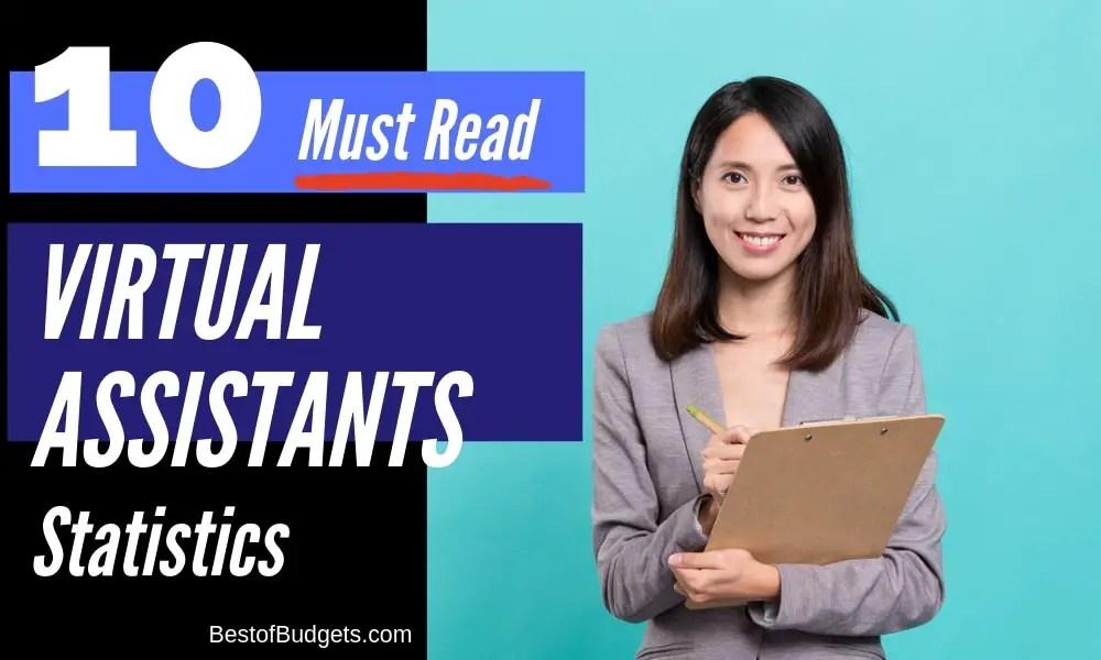 Virtual Assistant Statistics