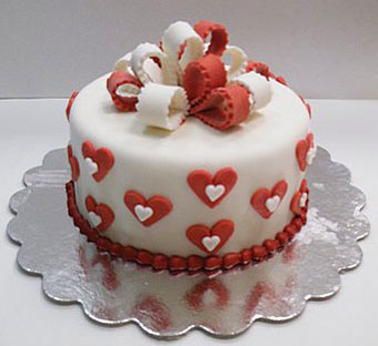 Red And White Wedding Cakes Best Of Cake