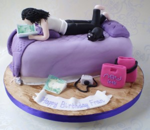 Birthday Cake For Teenagers In Unique Design