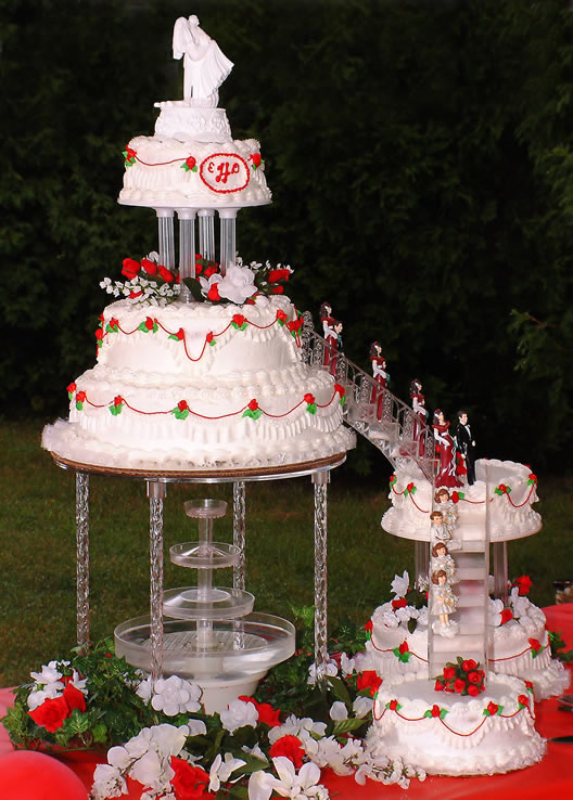 Best of Cake   Cakes Designs  Ideas and Pictures Nice Wedding Cakes Stairs