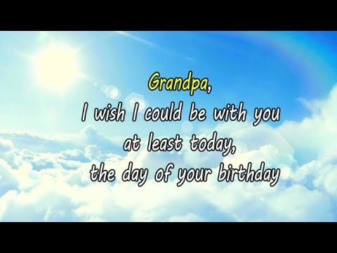 Happy Birthday In Heaven Grandpa Twitter Best Of Forever Quotes