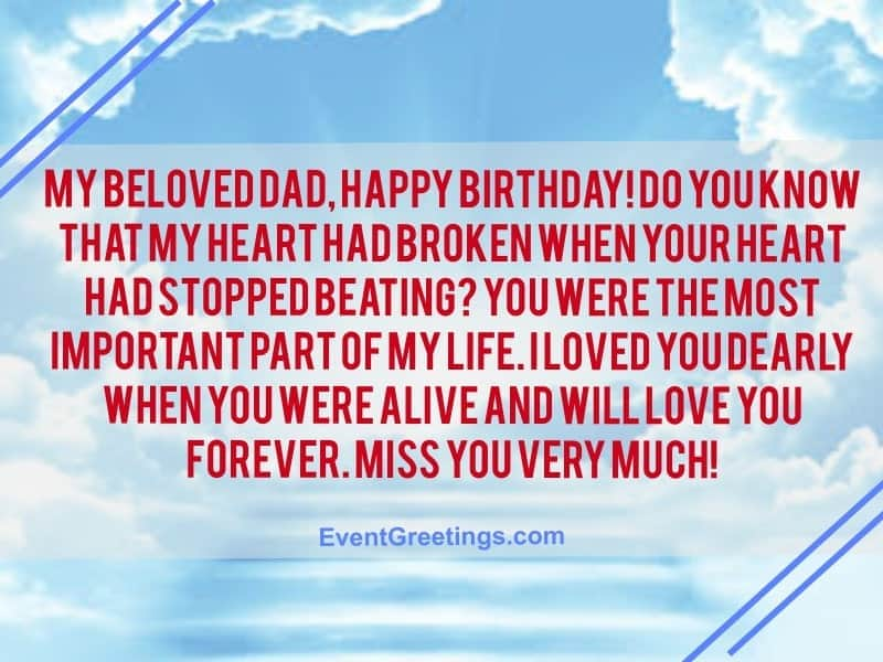 Happy Birthday To My Dad In Heaven Best Of Forever Quotes
